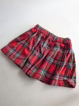 スウェーデン★ウエストゴムのチェック柄キッズスカート