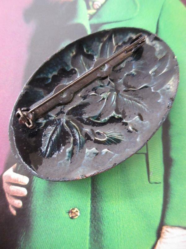 画像4: 七宝焼きのお花柄ブローチ