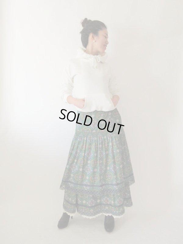 画像2: 【一気にあか抜け*】西ドイツ製マキシ丈スカート