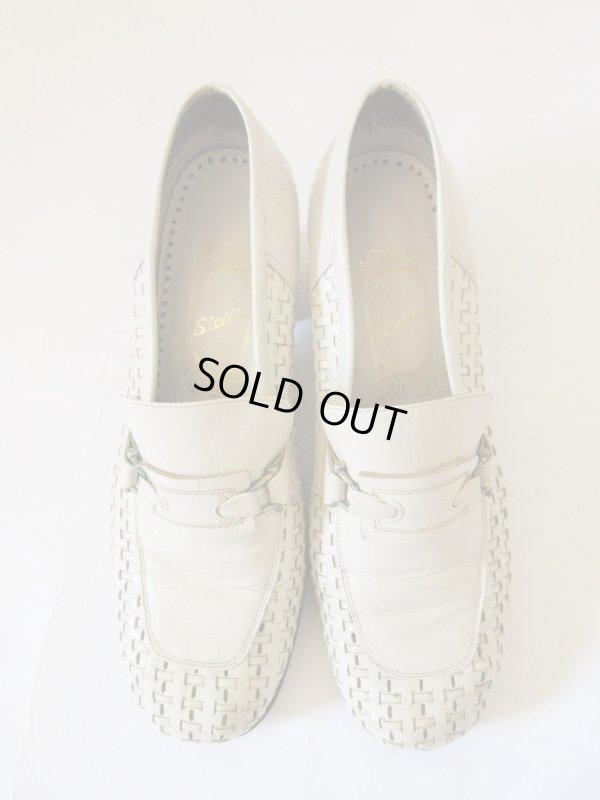 画像1: 【白の潔さを味方にする*】春の素敵靴コレクションD