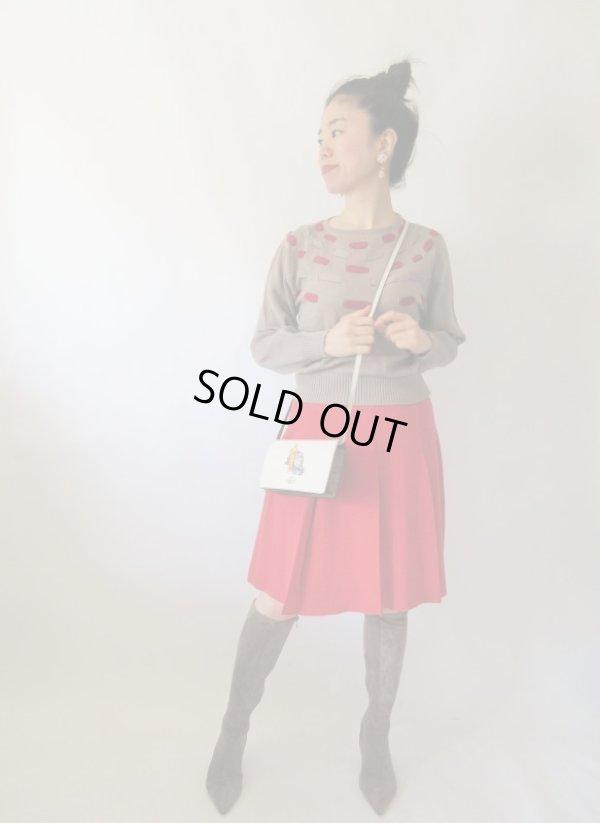 画像2: 【シンプルis Best*】ウエストゴムのボックスプリーツスカート
