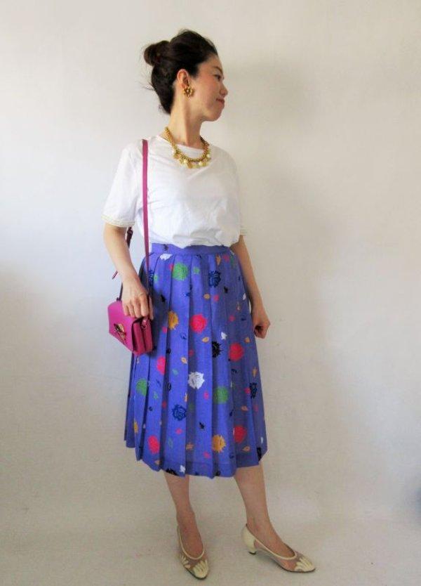 画像2: 【スカートを主役に*】影絵ローズのスカート